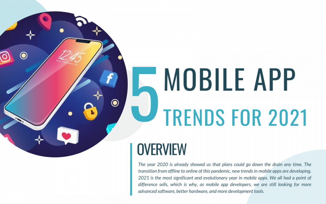 5 Mobile App Trends for 2021